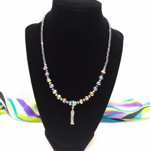Colorful Blessed Pendant Necklace
